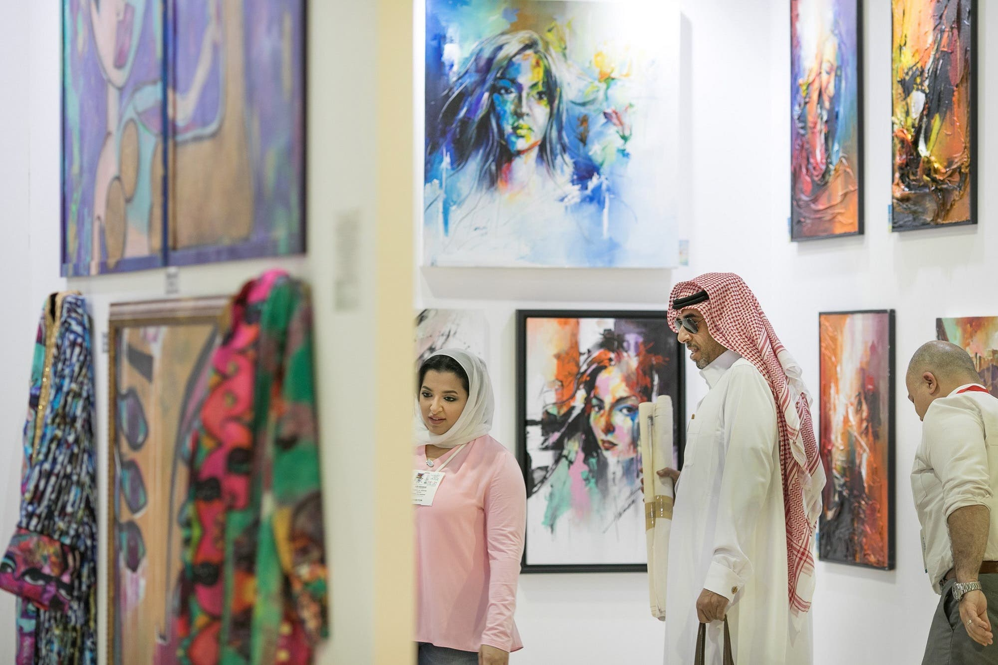Over 4,000 artworks and prices for every budget were available at World Art Dubai this year. (Supplied)
