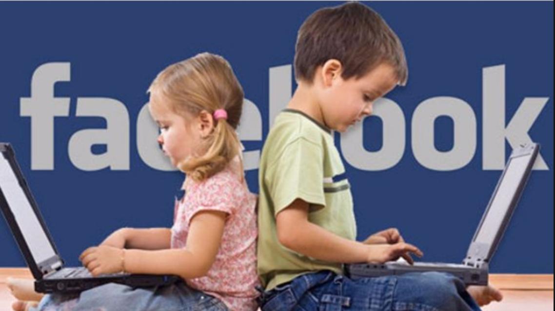 الأطفال وفيسبوك
