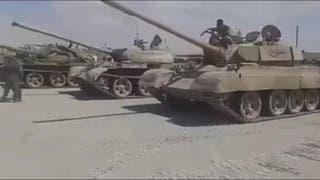كميات هائلة من الدبابات سلمها جيش الإسلام للنظام