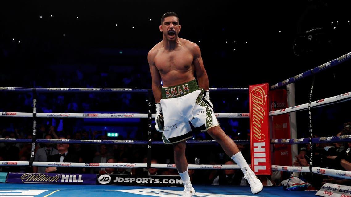 Amir Khan boxing. (Reuters)