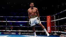 Amir Khan wins first fight in two years in 39 seconds