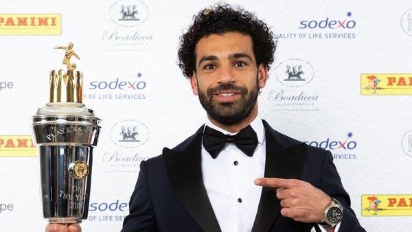 محمد صلاح يفوز بجائزة أفضل لاعب في الدوري الإنجليزي