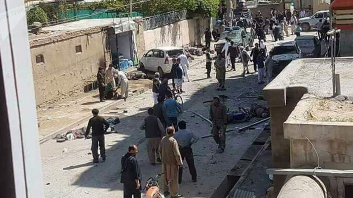 آمار قربانیان حمله انتحاری کابل به 69 کشته و 120 زخمی رسید