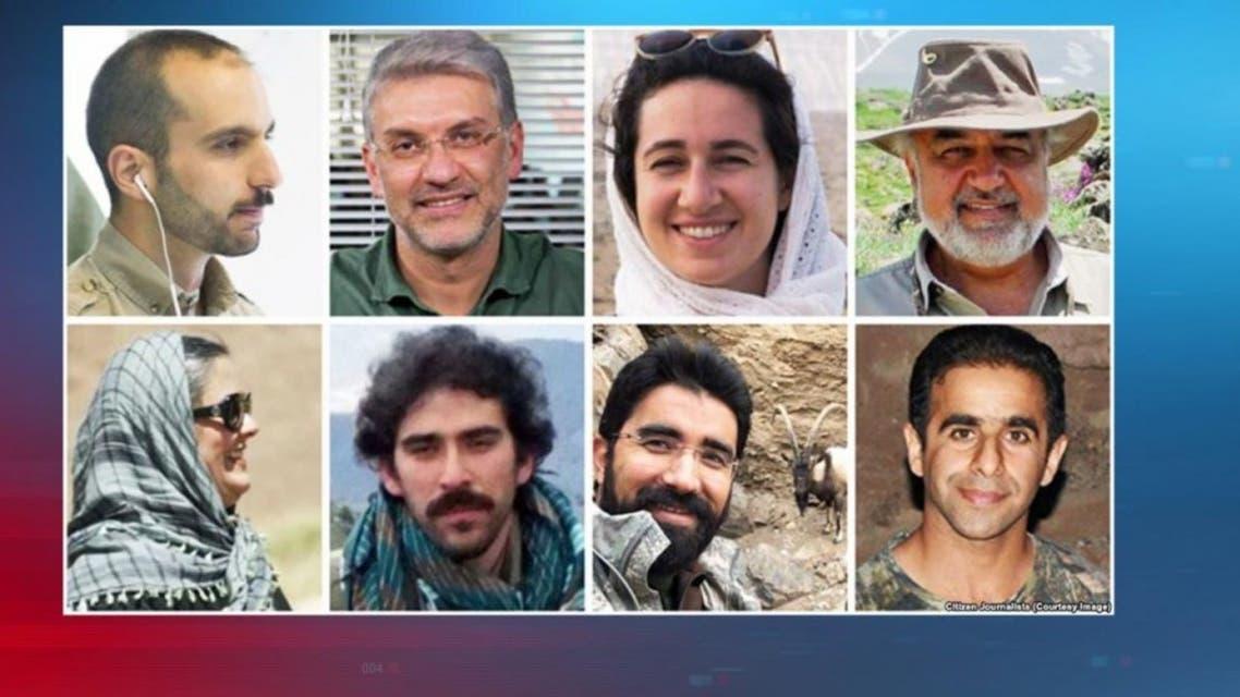عدد من نشطاء البيبئة المعتقلين