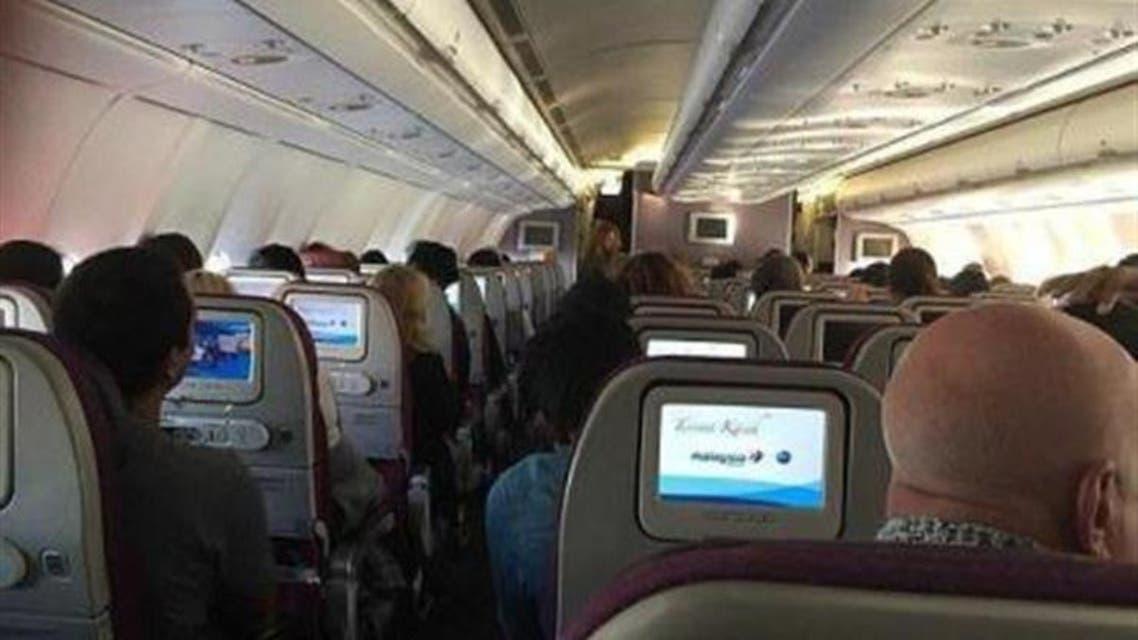 من متن الطائرة التي شهدت ولادة الطفل