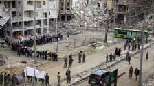 شامی حکومت کے پمفلٹوں میں شہریوں سے حمص اور حماہ کے نواح سے کوچ کرنے کا مطالبہ