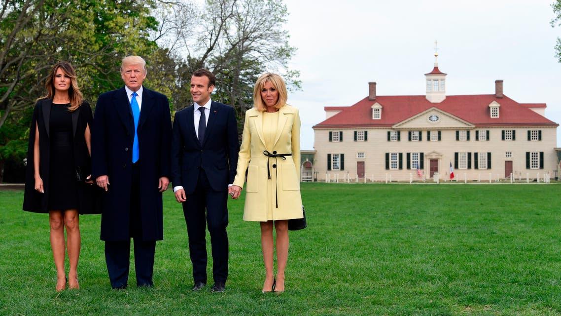 لقاء أميركي فرنسي بمنزل ماونت فيرنون