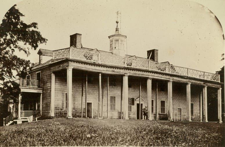 مقر ماونت فيرنون قديما