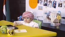 امارات : 8 ماہ کے ننھے 'سفیر  مسرت' سے ملیے!