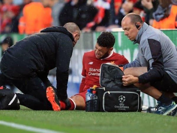 إصابة تشامبرلين تثير قلق ليفربول وإنجلترا