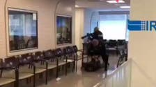 WATCH: Armed man arrested at Iranian interests section in Washington
