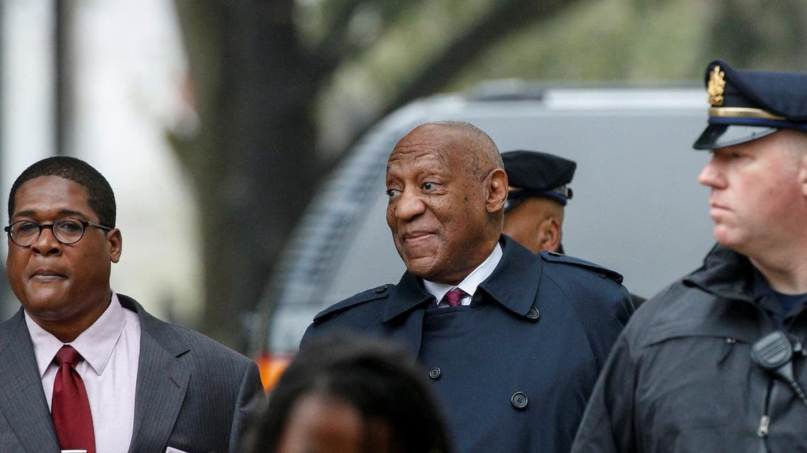 Actor and comedian Bill Cosby arrives for deliberations at his sexual assault retrial at the Montgomery County Courthouse in Norristown, Pennsylvania, US, on April 25, 2018. (Reuters)