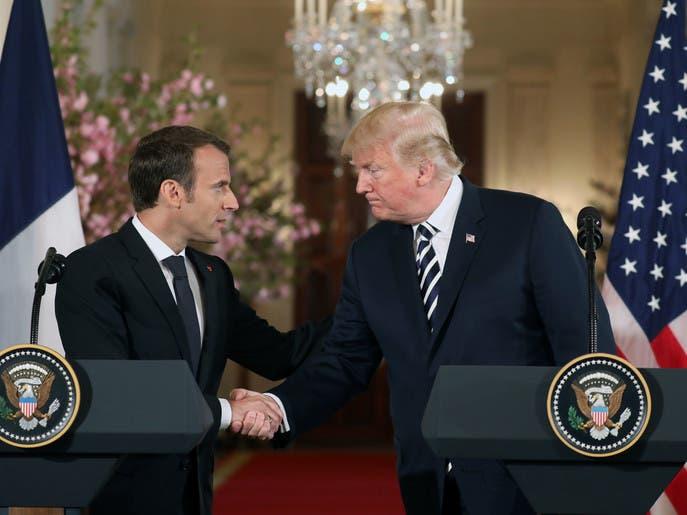 ماكرون: نعمل على إعداد اتفاق جديد مع إيران