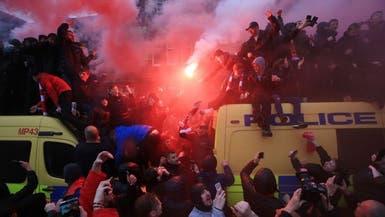 """""""يويفا"""" يدين أعمال الشغب بين أنصار ليفربول وروما"""
