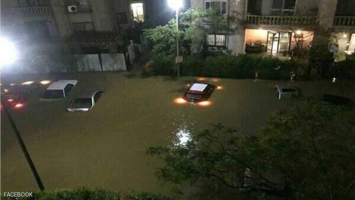 severe rain. (Social media)