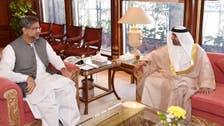 وزیراعظم شاہد خا قان عبا سی کی متحدہ عرب امارات کے سفیرسے گفتگو