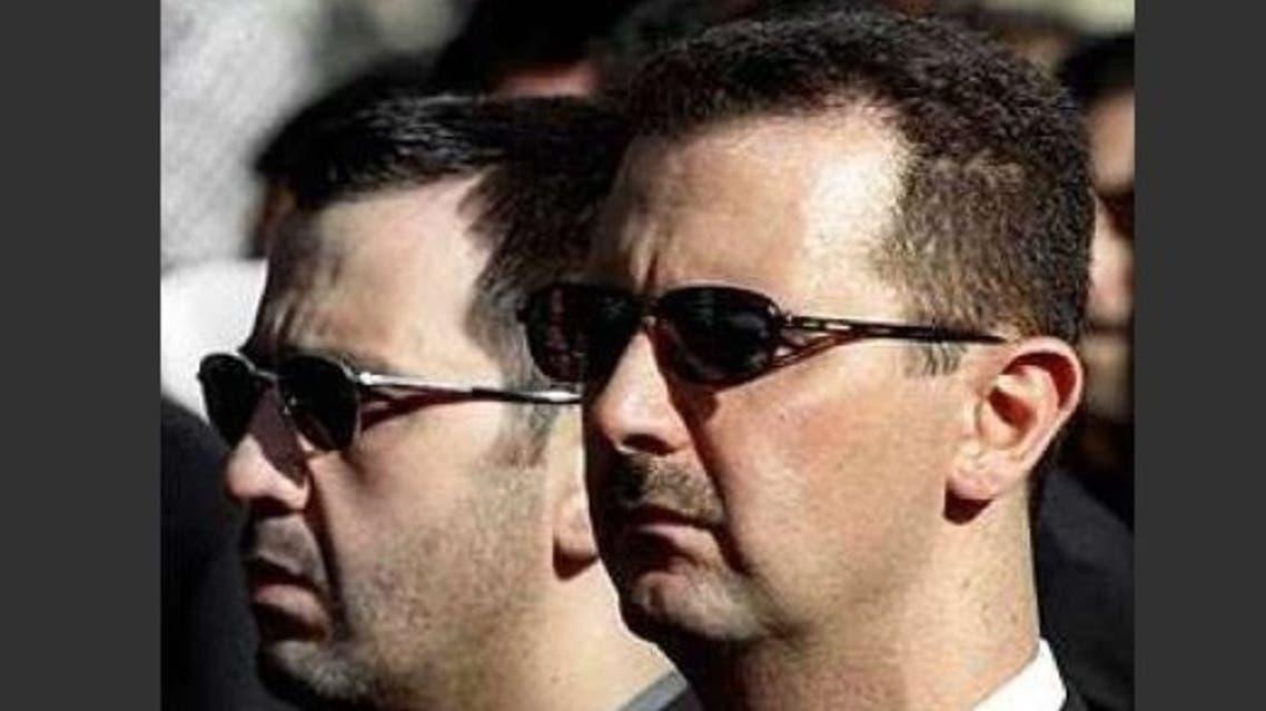 بشار الأسد وشقيقه ماهر