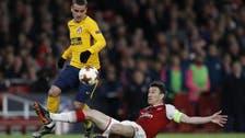 Advantage Atletico as Griezmann punishes wasteful Arsenal