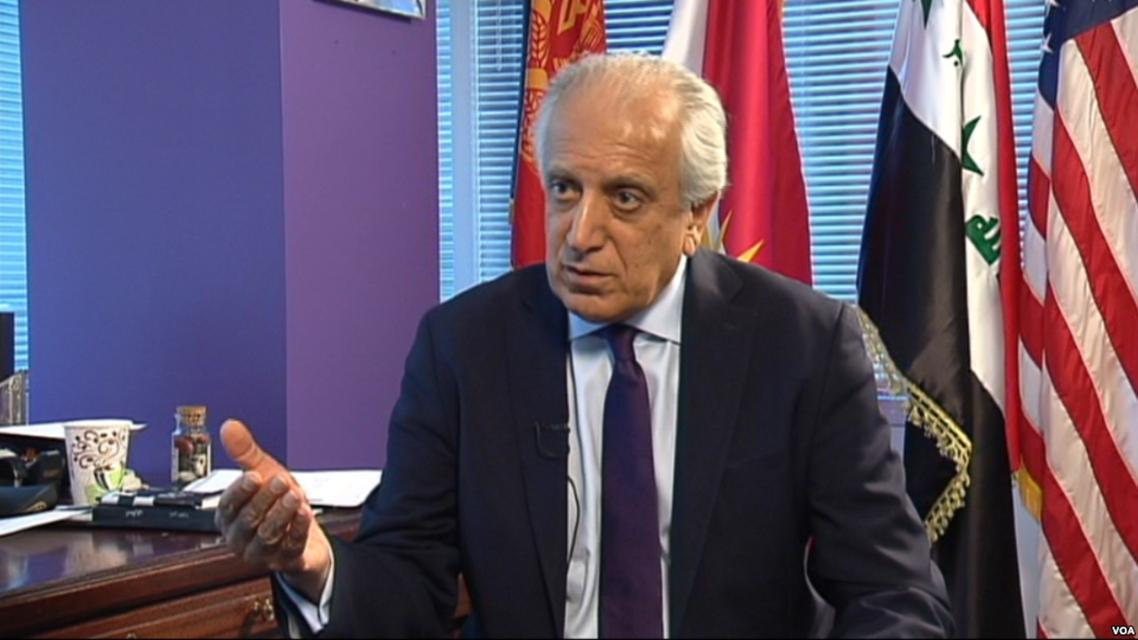 زلماي خليل زاد ، السفير الأمريكي السابق لدى الأمم المتحدة