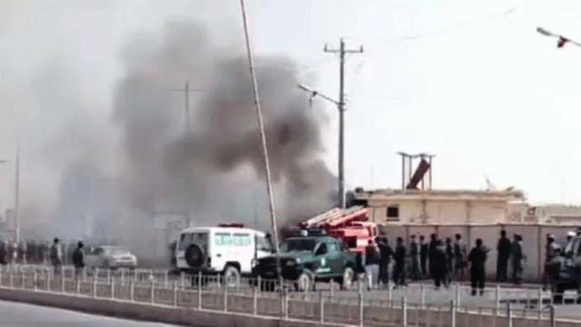 حمله نیرومند انتحاری در ولایت هلمند افغانستان