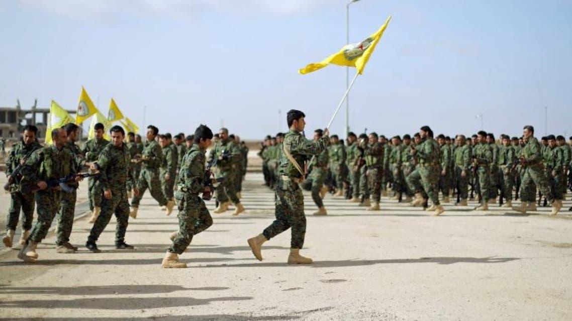 مقاتلون تابعون لقوات سوريا الديمقراطية في الحسكة 3