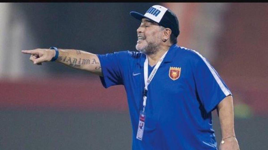 باشگاه الفجیره امارات مارادونا را برکنار کرد