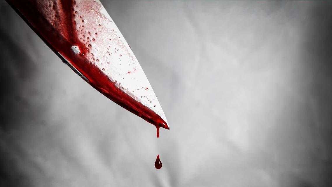صورة تعبيرية طعن سكين