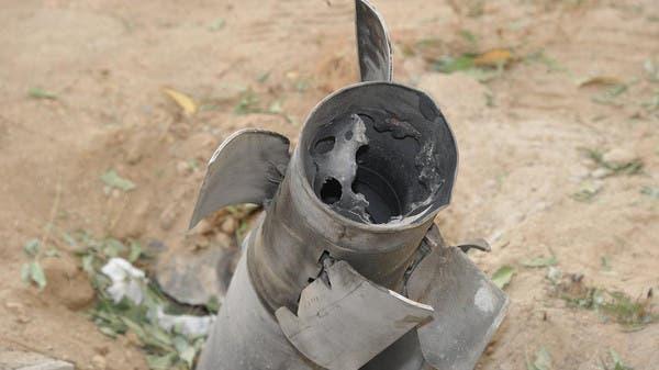 مقذوف حوثي في جازان (أرشيفية)