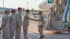 'EFES 2018' مشقوں میں شمولیت کے لیے سعودی فوجی دستے کی ترکی آمد