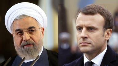 ماكرون يحذر روحاني من إضعاف الاتفاق النووي الإيراني