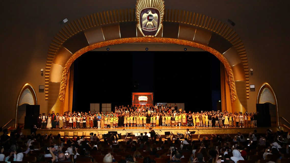The event saw more than 540 students, many performing for the first time. (Supplied)