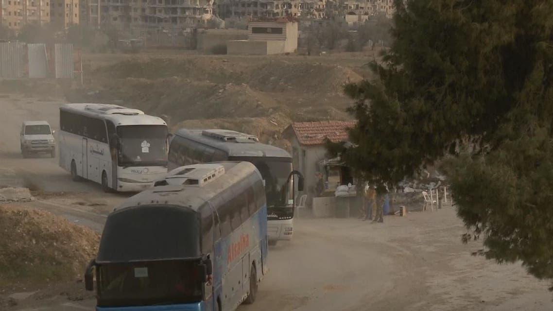 اليرموك مقابل الفوعة وكفريا