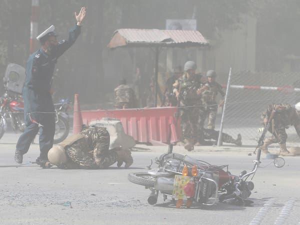 تفجير انتحاري خارج مكتب مفوضية الانتخابات بكابول