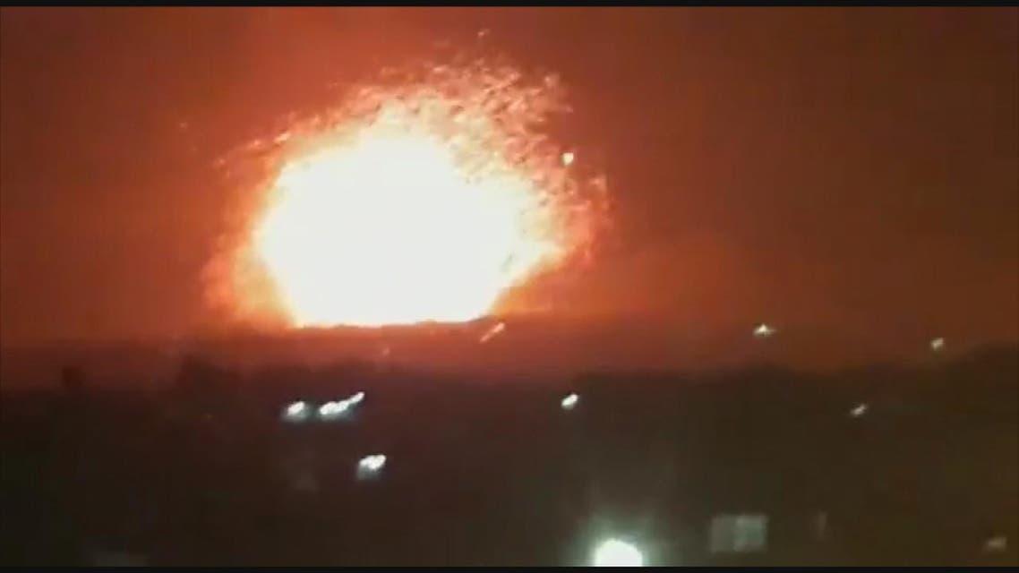 THUMBNAIL_ صواريخ تستهدف مقرات النظام وميليشيات إيران في #حلب و #حماة