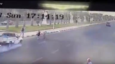 فيديو.. حادث دهس بشع لسائحين تشيكيين بالغردقة