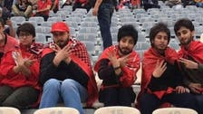 Iranian women dress up as men to attend football match