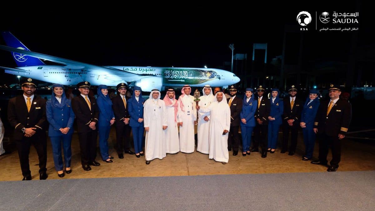 Saudia unveils official World Cup plane for Saudi Arabia's national team