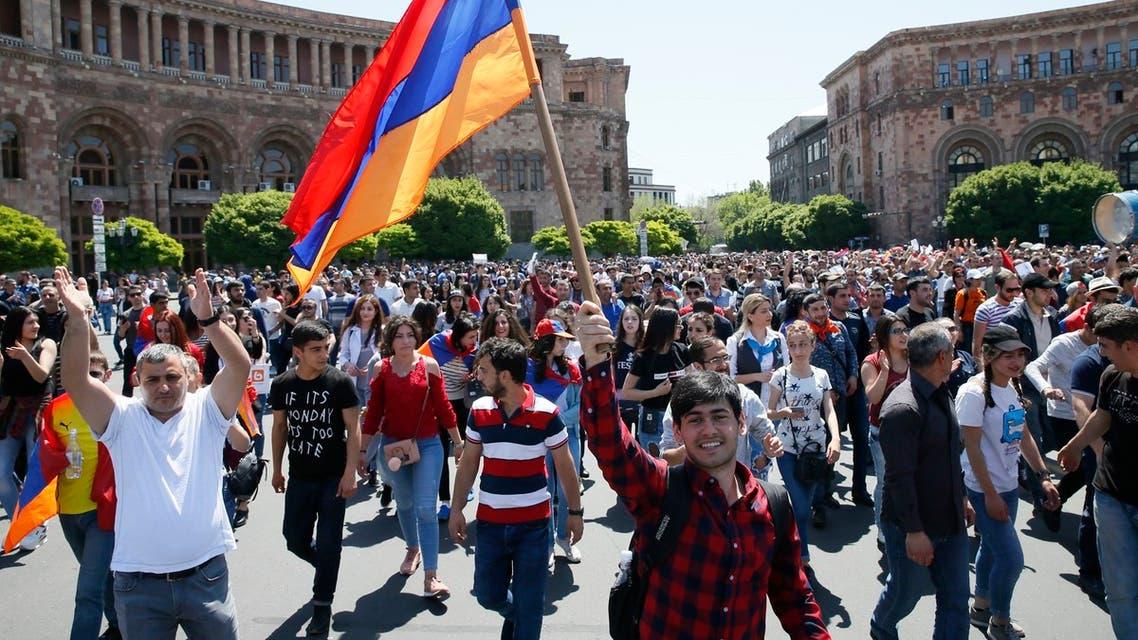 احتجاجات ارمينيا