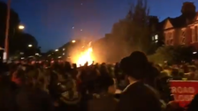 VIDEO: Bonfire explosion at London Jewish celebrations injures up to 30