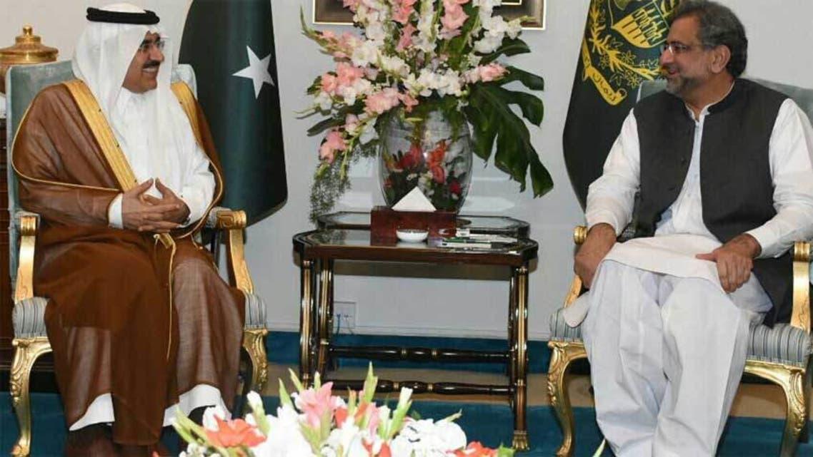 رئيس الوزراء الباكستاني يلتقي الوفد السعودي