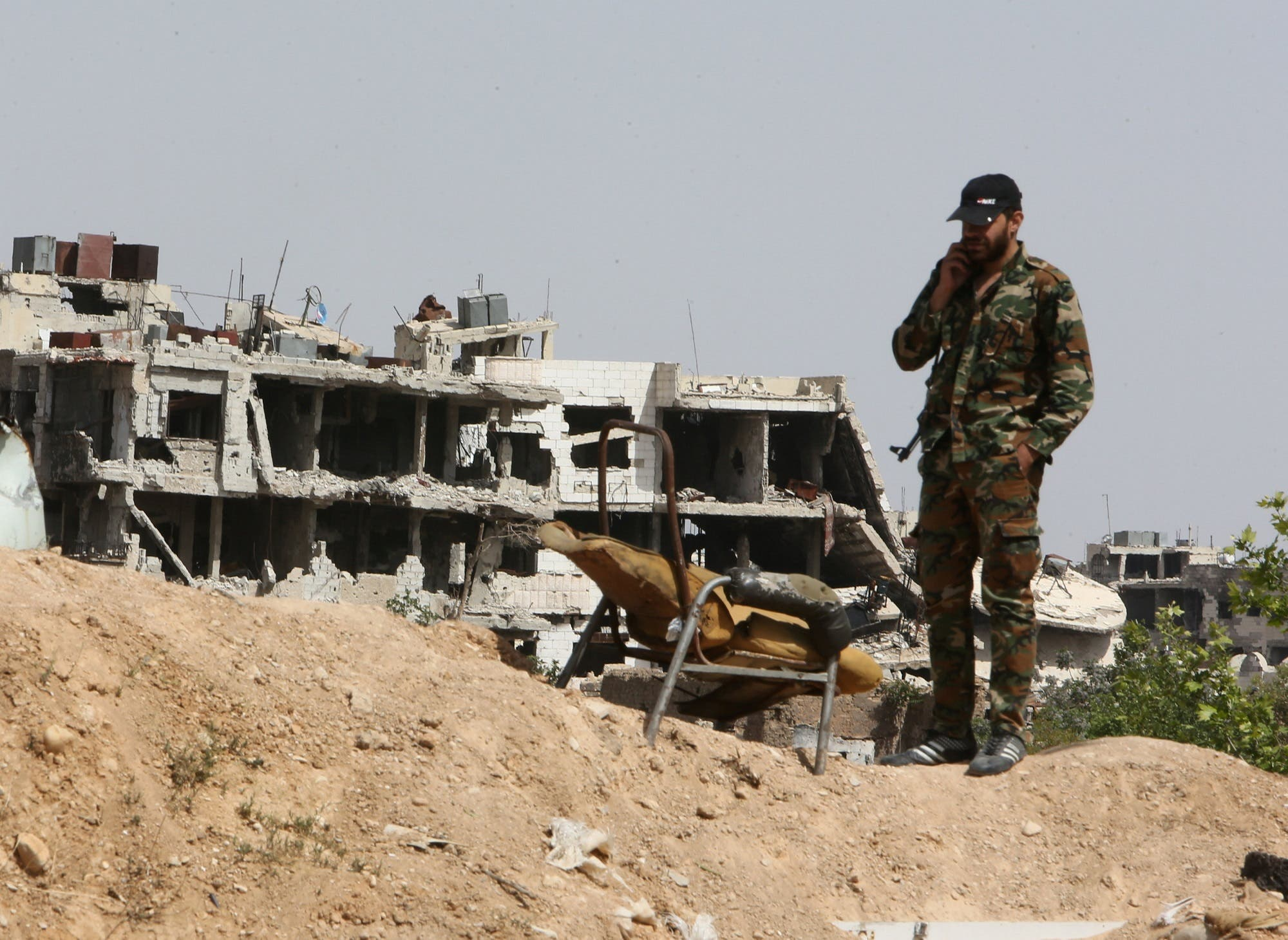 من الغوطة الشرقية (أرشيفية-رويترز)
