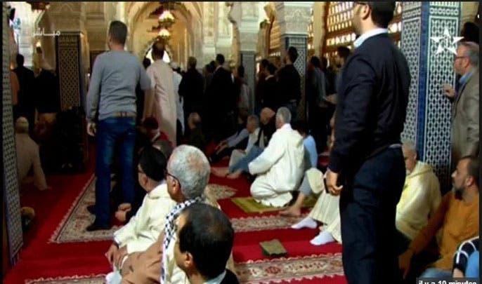 ذعر في مسجد حسان عقب الهجوم
