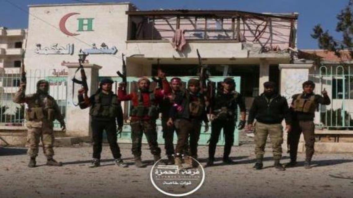 فرقة الحمزة.. درع الفرات الجيش الحر