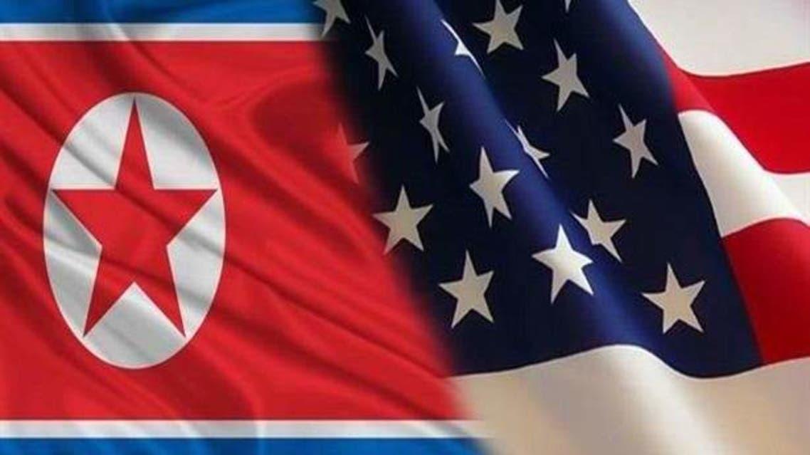 علما أميركا وكوريا الشمالية