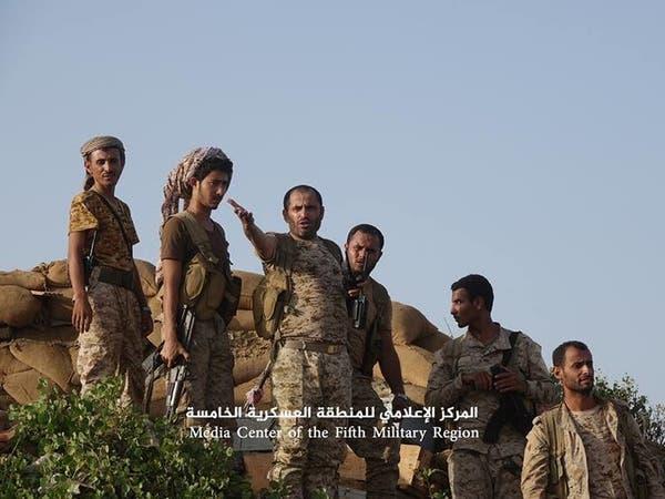 الجيش اليمني يقتحم مركز مديرية كتاف معقل الحوثيين