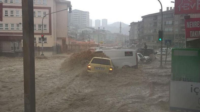 Ankara flooded with torrential rains in phenomenon that occurs 'every 500 years'