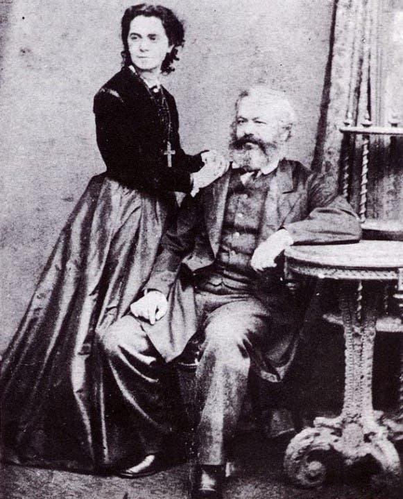 ماركس وزوجته