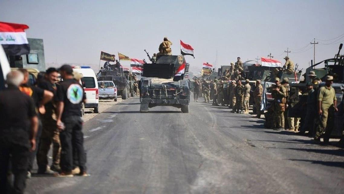 القوات العراقية تدخل كركوك