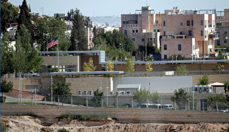 مبنى القنصلية الأميركية جنوب القدس الذي سيصبح مقر السفارة بعد نقلها رسمياً من تل أبيب 33