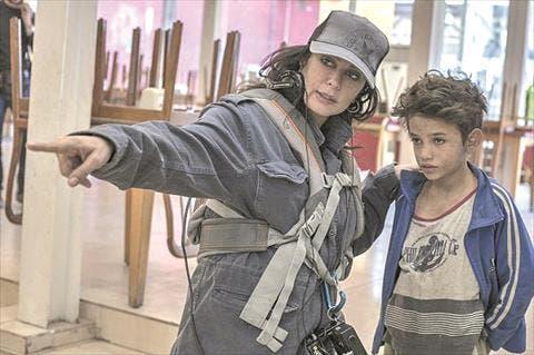 نادين لبكي وبطل فيلمها الجديد
